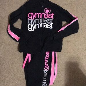 Justice Gymnast Two Piece Outfit 7